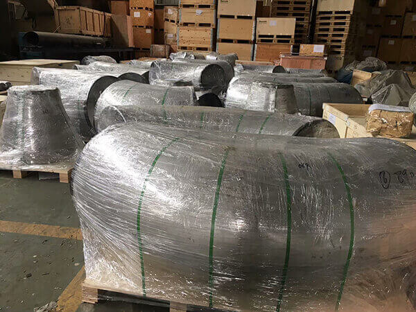large size stainless steel elbow