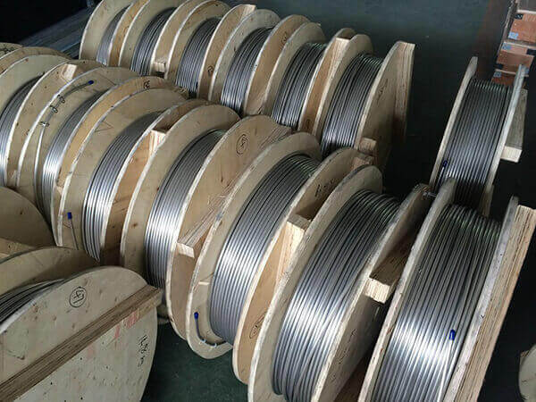 stainless steel coiling tubing