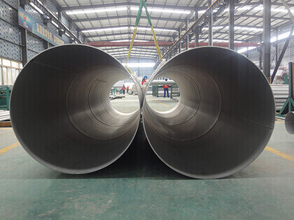 A312 304 304L Welded Stainless Steel Pipe