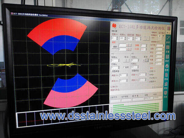 A249 stainless steel tube eddy current test
