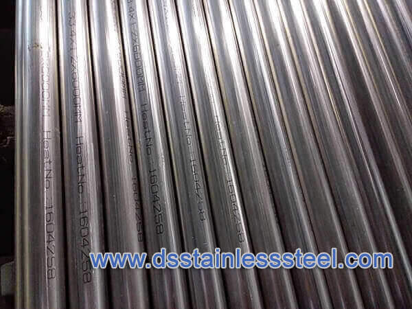A249 welded BA stainless steel tube