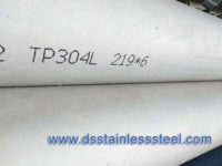 A312 tp304L stainless steel seamless pipe