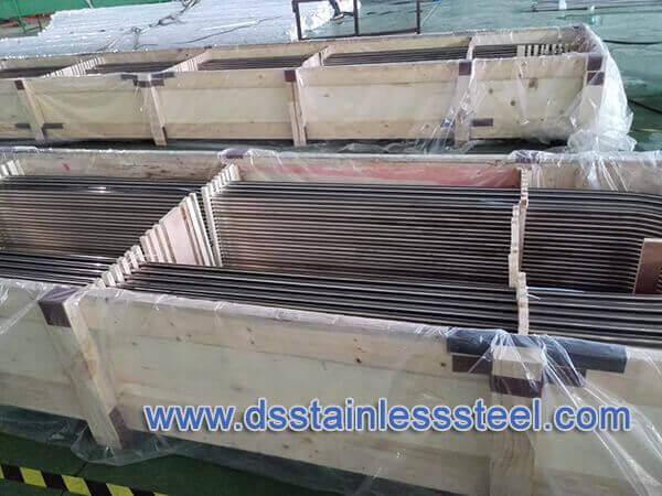 U bending stainless steel tubing