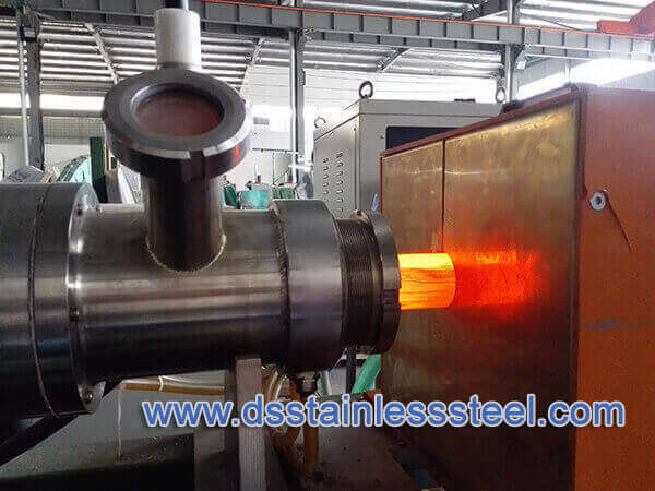 online furnce bright annealing stainless steel tube