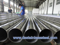 polishing stainless steel tubing