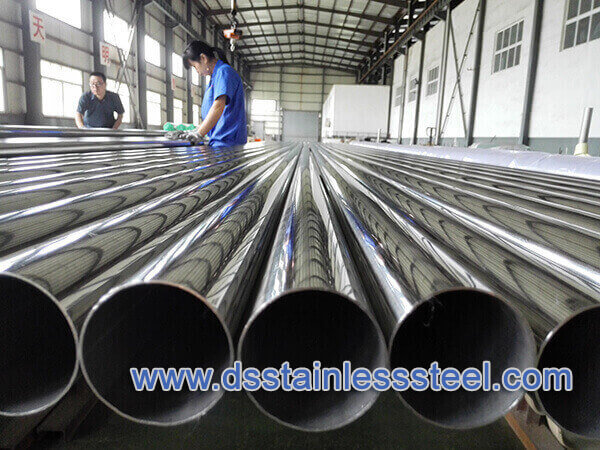 polishing stainless steel tubing