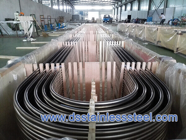 welded seamless stainless steel U bending tube