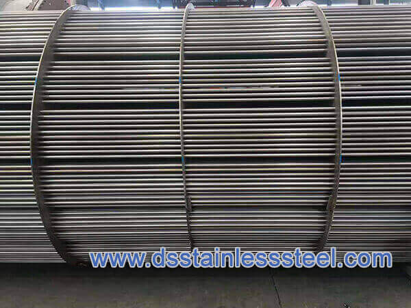 welded stainless steel tube for heat exchnger